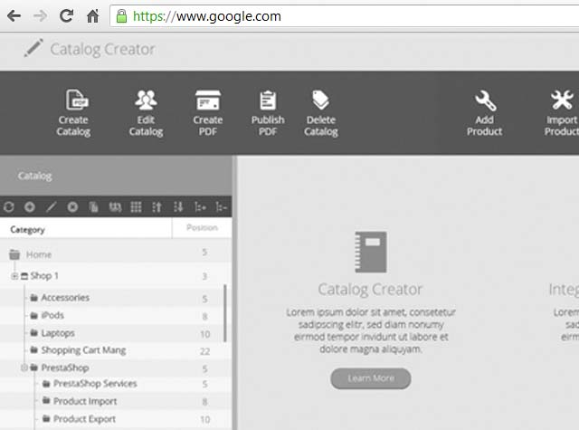Web Applications Preview Image