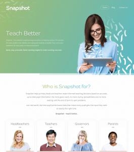 Snapshot homepage