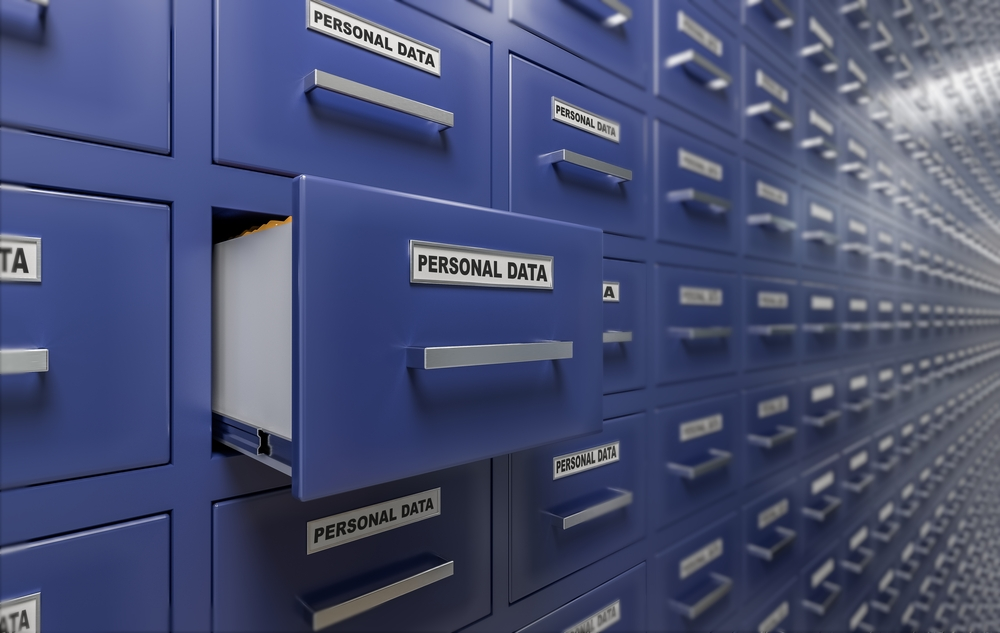 personal data files in one place